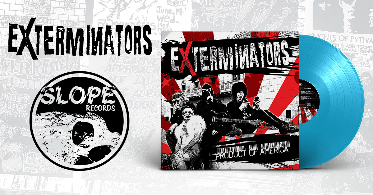 Slope Records Releases the Exterminators Album on November 8th