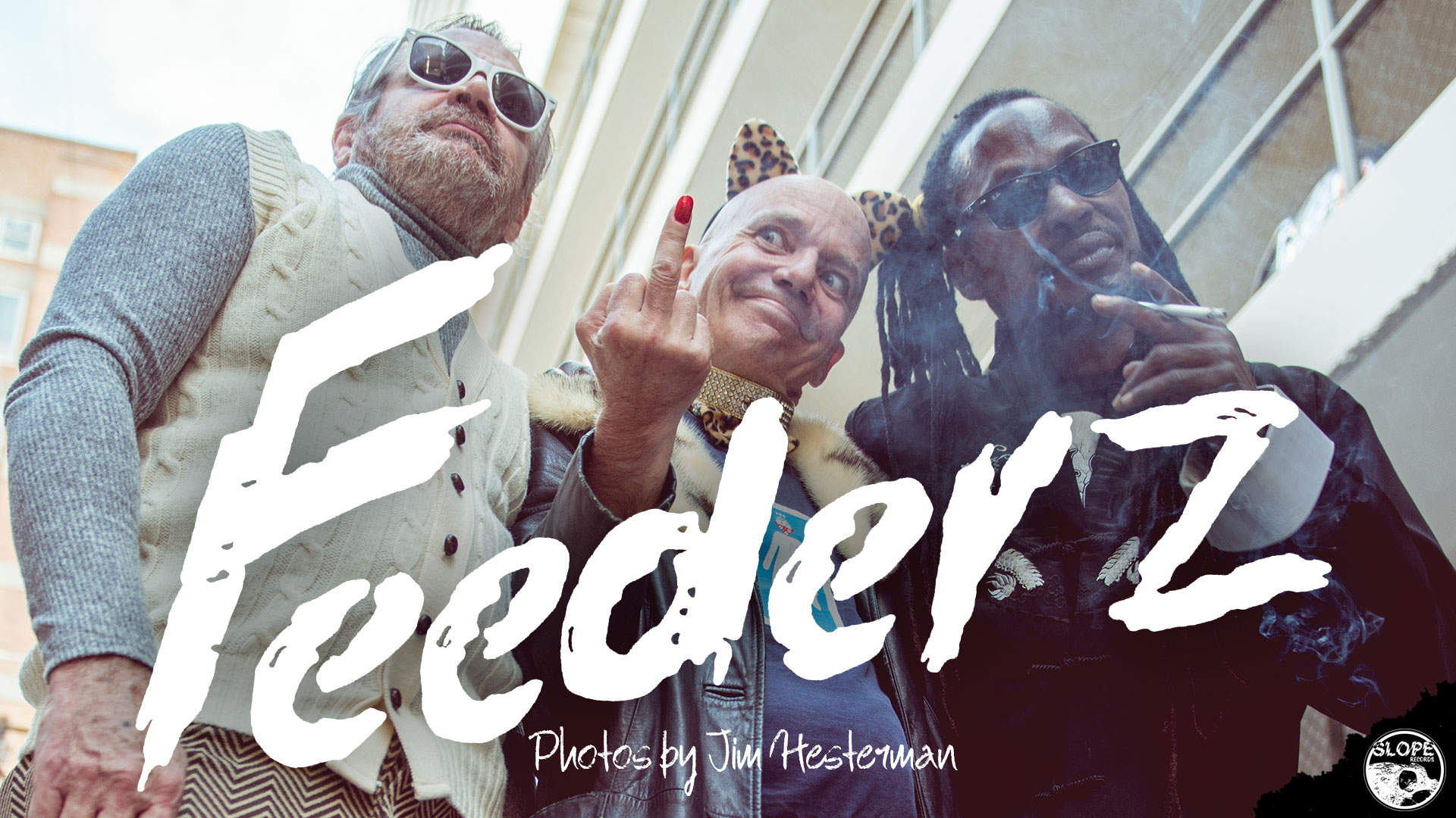 Feederz Are Back - Photos by Jim Hesterman - Slope Records