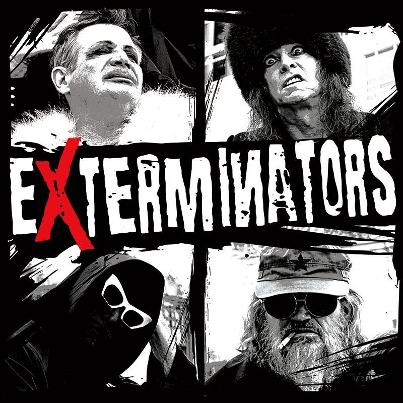 Exterminators Mugshots T Shirt Slope Records