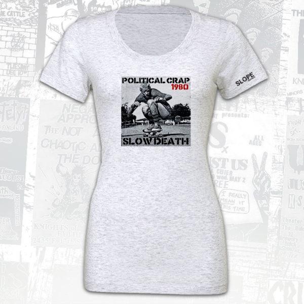 Political Crap - Slow Death Cover T-Shirt - Slope Records