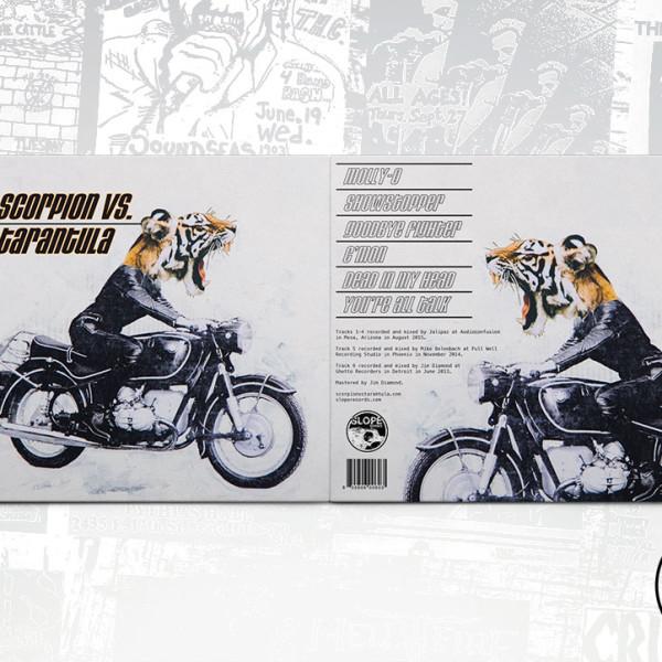 Scorpion Vs. Tarantula - ST - Slope Records